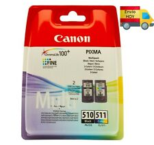 MultiPack LOTE de 2 cartuchos PG-510 + CL-511 tinta original Canon ENVIO HOY
