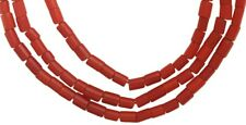 African trade beads old red White heart Venetian glass beads Carnaline d'aleppo