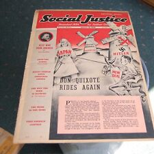 Jan 16 1939 Issue  Social Justice Magazine  Father Coughlin