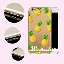 Hot Summer Fruits Case Cover For iPhone 4s 5 5s SE 6 6S Plus TPU Soft Clear Skin