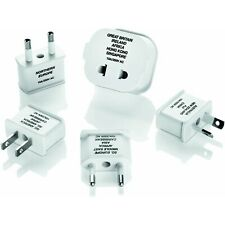 Conair Travel Smart Polarized Plug International Travel Adapter Set #6195