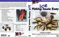 Ice Fishing Made Easy Walleye Pike Crappie DVD NEW - Ships Out Fast!
