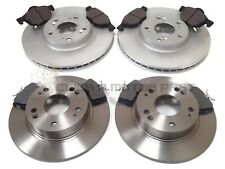 for HONDA ACCORD 2.2 CTDi 2003-2008 FRONT & REAR BRAKE DISCS AND PADS (SALOON)