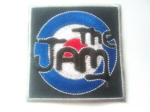 The Jam Mod Target Roundel Patch Iron On Or Sew On Embroidered Badge