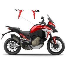 """Adesivi per fianchetti design personalizzato moto Ducati Multistrada V4""""V1207"""""""