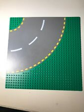 "Lego Road Plate Green 4109 44342 9373 Curve Base Platform Yellow 32x32 Stud 10"""
