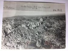 photo presse ww1 guerre14-18  Ferme de Thiaumont  10/04/1918    W7