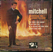 eddy mitchell EP FRANCE J'AI PERDU MON AMOUR