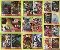 2014 Amazing X-men #1-19 + Annual Aaron Marvel NM 9.4