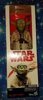 Yoda Action Figure 12in Star Wars ESB Last Jedi Packaging New
