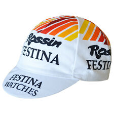 FESTINA ROSSIN RETRO CYCLING BIKE CAP - Vintage - Fixed Gear - Made in Italy