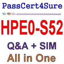 Building HPE Server Solutions HPE0-S52 Exam Q&A PDF+SIM