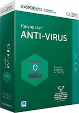 KASPERSKY ANTIVIRUS 2017 1PC/1YEAR / NEW VERSION / ANTI-VIRUS / SALE