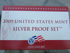 2009-S U S Mint Silver Proof Set (18 Coin Set) in Box with C.O.A. Free Shipping