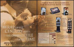 3 Lot__Original 1964-1999 Trade print ADs / ADVERTs__Angelique / Titanic (2)