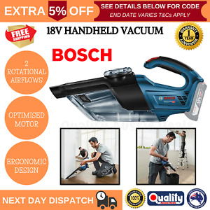 Bosch Handheld Cordless Vacuum Cleaner 18V Professional Dry Vacuuming Gas Skin