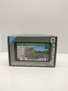 NEW - OPEN BOX!! Garmin DriveSmart 55 EX W/ Traffic 5.5 inch GPS Navigator/Black