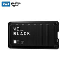 WD_BLACK P50 500GB 1TB 2TB Game Drive SSD USB-C USB 3.2 Gen 2X2 with Tracking#