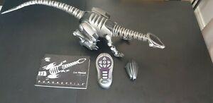 Robotics Roboreptile Dinosaur Large Toy WowWee 2006 Black