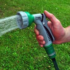 6 Function Soft Grip Garden Hose Pipe Spray Gun