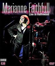 Marianne Faithfull, Live in Hollywood, BRAND NEW FACTORY SEALED DVD/CD COMBO