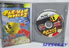 Pac-Man World 2 Platinum Hits Microsoft Xbox Game Complete DISC SCRATCHED Works
