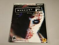 Manhunt Strategy Guide by Brady Games, Very Clean