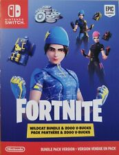 Fortnite Wildcat Bundle & 2000 V-Bucks For Nintendo Switch EU Region (Rare CODE)