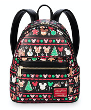 Disney Parks Holiday Food Icons Mini Backpack By Loungefly