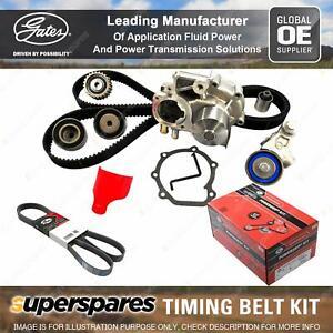 Gates Timing Belt Kit for Kia Sportage KM CVVT G6BA 2.7L 129KW 2656CC Petrol