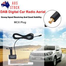 AU Universal DAB Digital Car Radio Aerial Antenna Glass Mount MCX Male Plug