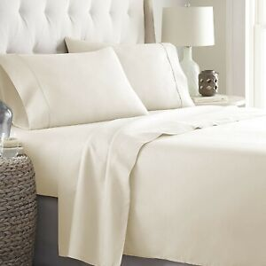 Egyptian Cotton Wonderful Ivory Bedding Collection 1000 TC Select Item & Pattern