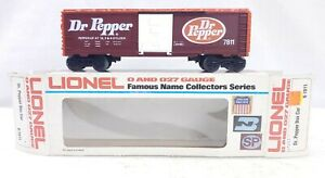 Lionel Trains Dr. Pepper Box Car 6-7811 NIB O Scale