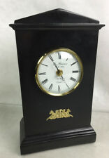 Thomas Blakemore Ebony Stone Mantel Clock Lot 2246
