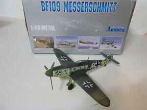 Armour, Bf 109F Messerschmitt, Ace Maj. Erich Hartmann, 1:48, Diecast, Used