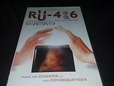 RU-486: The Last Option (DVD, 2014)