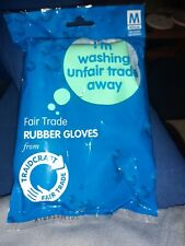 Fait Trade Rubber Gloves Size Medium