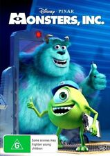 Disney Pixar Monsters, Inc. (DVD, 2013) Billy Crystal, John Goodman animated