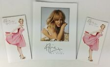 Kylie Minogue 'At Home' Official Promo Brochure Catalogue Group Of 3 (pebbles)