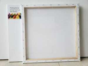 20 Artist 40x50cm Blank Canvas 280grms - Free Shipping
