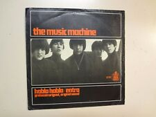"MUSIC MACHINE: Talk Talk 1:56- Come On In 2:54-Spain 7"" 1966 Hispa Vox H-141 PSL"