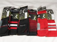 New Mens Adidas Formotion Team Speed Vertical Crew Athletic Socks 2 Pair Pack