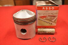 NOS 1961-66 Harley Sprint 250 C H 67.2MM Piston and Rings Kit