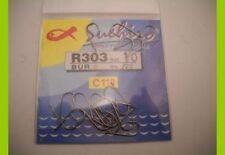1 confezione 20 Ami Suehiro in acciaio 110 carbon serie r303 n 24 pesca mf bi18