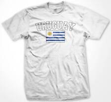 URUGUAY Flag International Soccer T-shirt Team Futbol