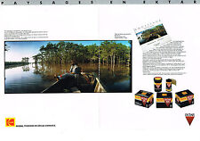 PUBLICITE ADVERTISING   1989   KODAK  EKTAR  1000  (2 pages)