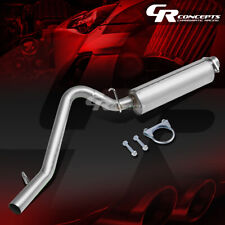 """2.5"""" MUFFLER ROUND TIP CATBACK RACING EXHAUST SYSTEM FOR 00-06 JEEP WRANGLER TJ"""