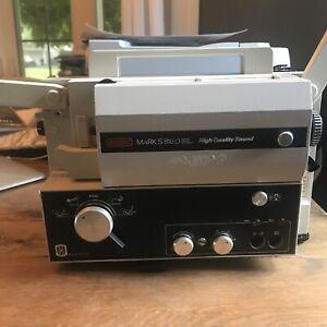 EUMIG Mark S 810 D Super 8 8MM Reel VTG Single 8 Sound Projector 810D Read