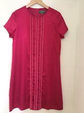 Pink Satin Dress Size 14 By New York Laundry Shift Dress