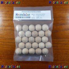 25 Hardwood Balls Solid Birch Wood Ball 1 Inch Dia. (1.00 in / 25.4 mm)